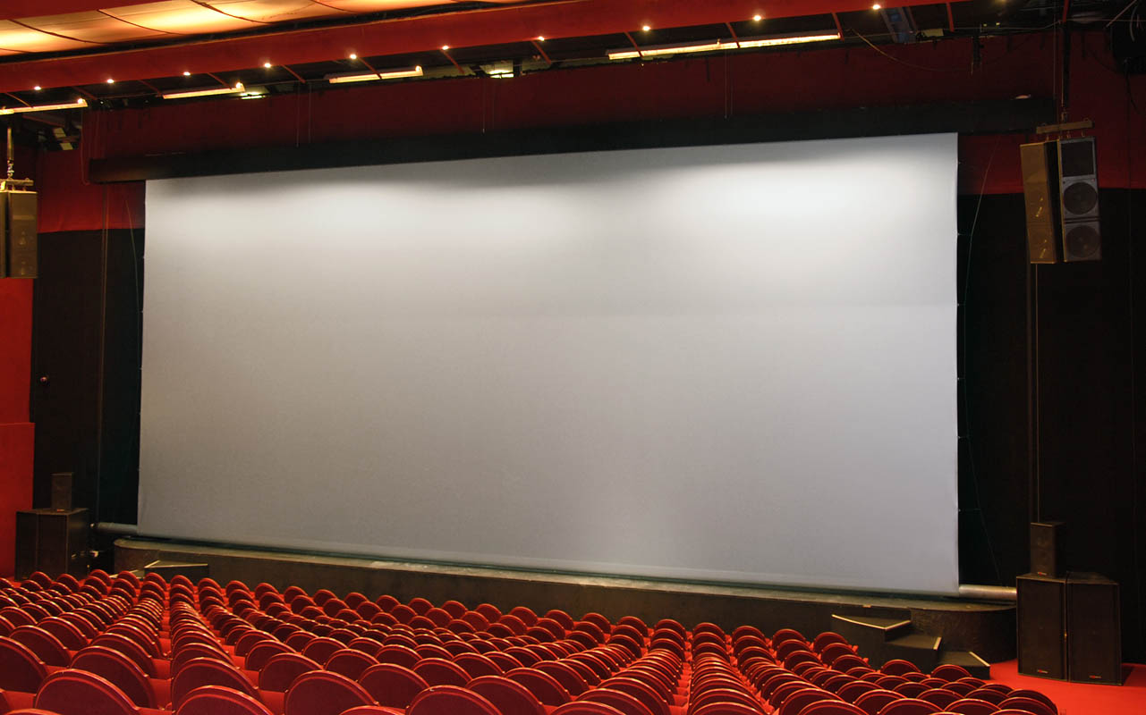 Large Projection Screens (all aspect ratio)